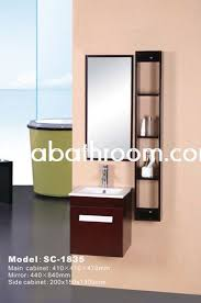 Tall Mirrored Bathroom Cabinets by 39 Best Wood Bathroom Vanity Images On Pinterest Wood Vanity