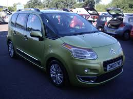 used citroen c3 picasso exclusive green cars for sale motors co uk