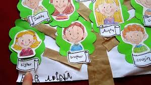 grade 1 social studies family tree craft