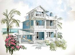 Southern Living Cottage Floor Plans 64 Best Cottages Floor Plans Images On Pinterest Beach House