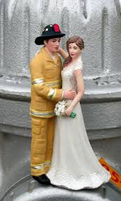fireman wedding cake toppers firefighter wedding cake toppers magicalday