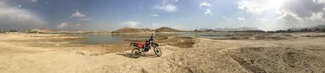 honda xlr quargha reservoir about 15 km outside kabul afghanistan 1985