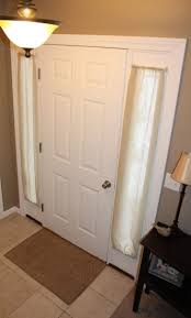 beautiful curtains front doors chic curtains on front door curtain rod for front