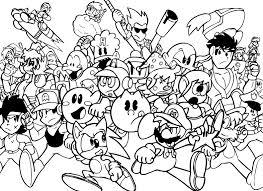 30 dessins de coloriage jeux video à imprimer sur LaGuerchecom  Page 2
