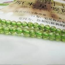 Handcrafted Handmade Semiprecious Gemstone Beaded Peridot Round Beads Beadage
