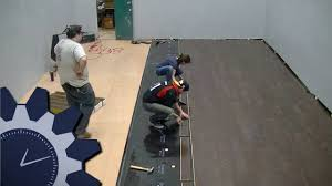 How To Install Armstrong Laminate Flooring Laying Armstrong Commercial Laminate Flooring In Studio A