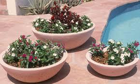 concrete landscape planters outdoor concrete planters phoenix
