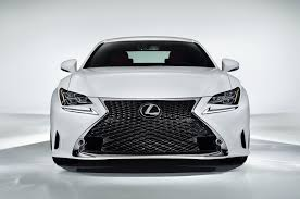 lexus rc f vs mustang gt big difference in front bumper between rc f and rc 350 clublexus