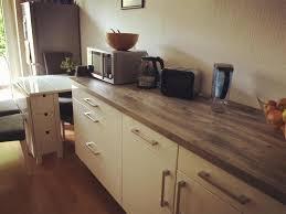 küche köln küche in köln mit arbeitsfläche in holzoptik sowie mikrowelle