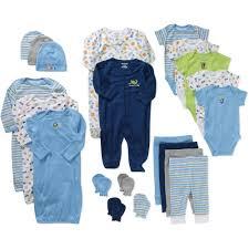 garanimals newborn baby boy 21 piece shower gift pampers