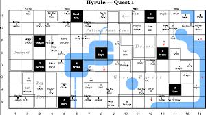 legend of zelda map with cheats image the legend of zelda overworld grid map png nintendo