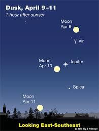 Backyard Guide To The Night Sky This Week U0027s Sky At A Glance April 7 U2013 15 Sky U0026 Telescope