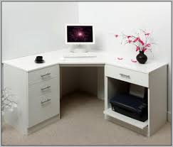 Small Corner Desk With Drawers Top Amazing Corner Desk With Drawers For Home Plan Small Computer