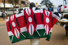 Flag Of Kenya Kenyatta Declared Winner Of Disputed Kenya Presidential Vote