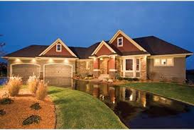 ranch style house plans with walkout basement ranch with master on level and three bedrooms in the walkout