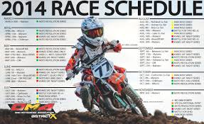 motocross races in ohio 2014 oma schedule flyer briarcliff mx