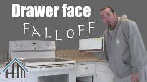 how to repair a kitchen drawer face fall off easy home mender