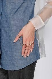 finger chain rings images Lyst eddie borgo five finger chain ring in metallic jpeg
