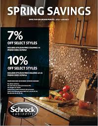 schrock cabinetry sale u2014 asa builders supply