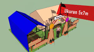 desain gapura ruang tamu desain 3d kapling tenda perkemahan dan gapura youtube