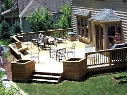 Small Garden Decking Ideas Back Decks Ideas Astonishing Small Garden Patio Design Ideas Using