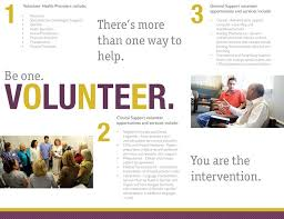 Volunteer Brochure Template by Portfolio William I Overbeeke Graphic Designer Artist Writer