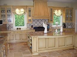 light gray kitchen cabinets with chocolate glaze cabinet door to