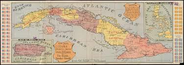 Map Cuba War Maps Of Cuba Porto Rico And The Philippines Digital