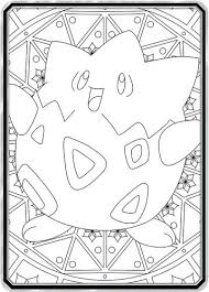 pokemon coloring pages togepi all custom pokemon cards tagged adult coloring book page 2