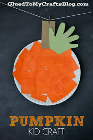 paper plates thanksgiving awesome orange paper plate pumpkin craft for preschool 2014