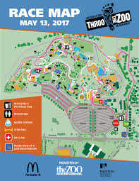 Zoo Map Throo The Zoo 5k Run Walk 2017 Louisville Zoo