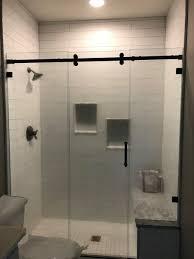 Black Shower Door Shower Doors Enclosures Olathe Glass Home Decor Custom