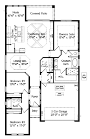 house plan 64643 at familyhomeplans com mediterranean house plan 64643 level one