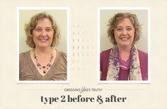 hair styles for a type 2 clean classic type 4 dressing your truth makeover dyt before