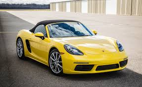 yellow porsche boxster 2017 porsche 718 boxster cars exclusive videos and photos updates