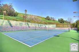 lighted tennis courts near me peek at homes with their own tennis courts orange county register