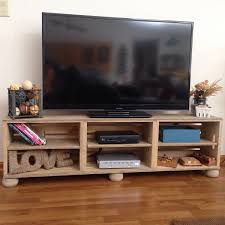 Media Center Furniture by 3 Wood Wine Crate Media Center Tv Stand Rustic Farmhouse