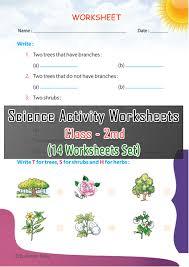 science activity worksheets set 4 iind bookman india