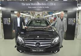 mercedes introduction the introduction of mercedes e 220 d to be powered with