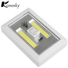 magnetic battery operated led lights ultra bright magnetic mini cob led wall light night lights cap l