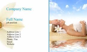 Massage Therapy Business Cards 20 Relaxing Spa And Massage Business Card Designs Uprinting