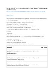 liberty university hius 221 module week 5 mindtap activities complete u2026
