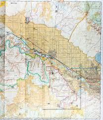 Blm Maps Colorado by Trail Map Of Colorado National Monument 208 National