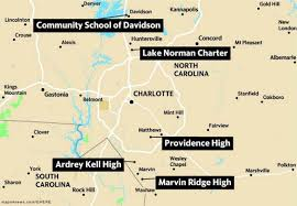 Denver Public Schools Map Us News Ranks Charter Suburban High Schools Best In Charlotte