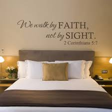 wall quotes picture more detailed picture about we walk by faith