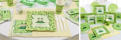 two peas in a pod baby shower decorations host a grand affair with two peas in a pod tableware big dot of