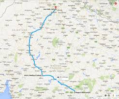 Hyderabad Map Road Status Between Hyderabad To Delhi India Travel Forum