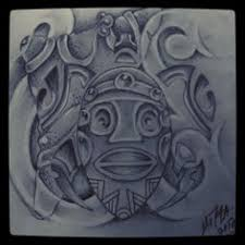 taino cacique tattoo taino tat amazing aztec tattoos
