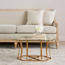 Quatrefoil Side Table Coffee Table Gold Glass Side Table Tables Leaf Top Coffee