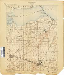 Ohio City Map Ohio Historical Topographic Maps Perry Castañeda Map Collection